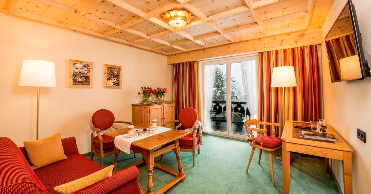 Junior Suite Südbalkon Parkhotel Wallgau